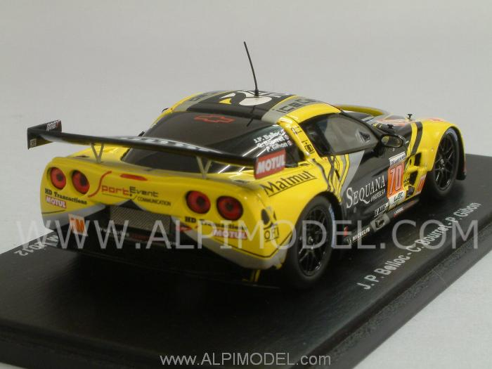 Chevrolet Corvette C6 ZR1 #70 Le Mans 2012 Belloc - Bourret - Gibon - spark-model