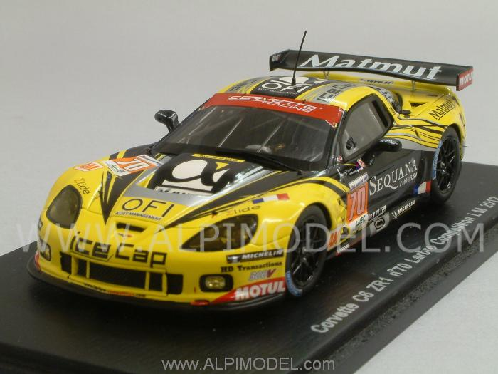 Chevrolet Corvette C6 ZR1 #70 Le Mans 2012 Belloc - Bourret - Gibon by spark-model