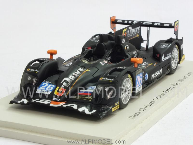Oreca 03-Nissan G-Drive Racing #26 Le Mans 2013 Conway - Martin - Rusinov by spark-model