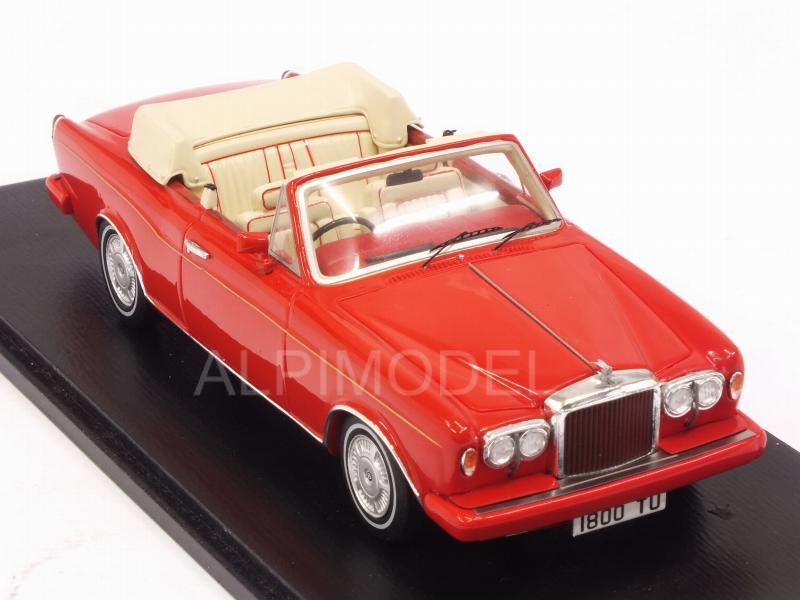 Bentley Continental Cabriolet 1984 (Red) - spark-model