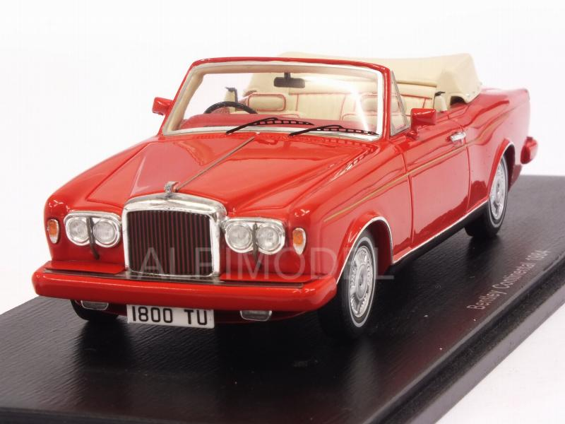 Bentley Continental Cabriolet 1984 (Red) by spark-model