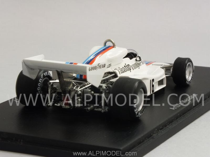 Shadow DN8 #16 GP Austria 1977 Arturo Merzario - spark-model