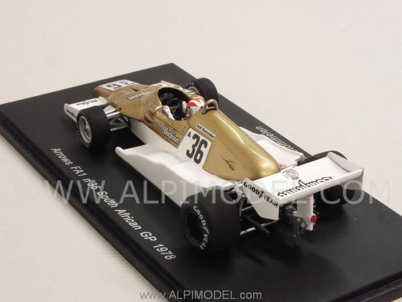 Arrows FA1 #36 GP South Africa  1978 Rolf Stommelen - spark-model