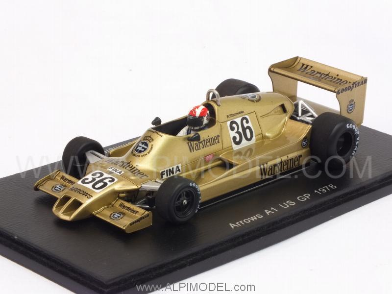 Arrows A1 #36 GP USA 1978 Rolf Stommelen 1978 by spark-model