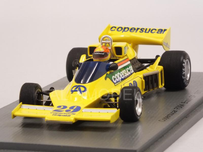 Copersucar FD04 #29 GP Brasil 1977 Ingo Hoffmann by spark-model