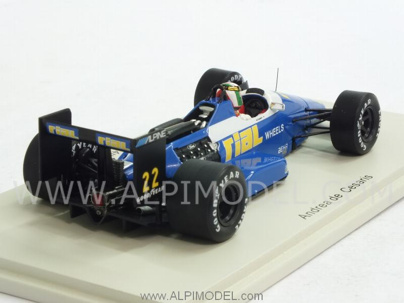 RIAL ARC1 #22 GP USA 1988 Andrea de Cesaris - spark-model