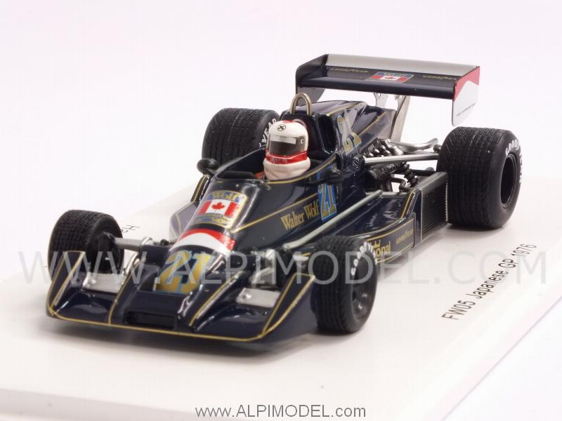 Wolf Williams FW05 #21 GP Japan 1976 Hans Binder by spark-model