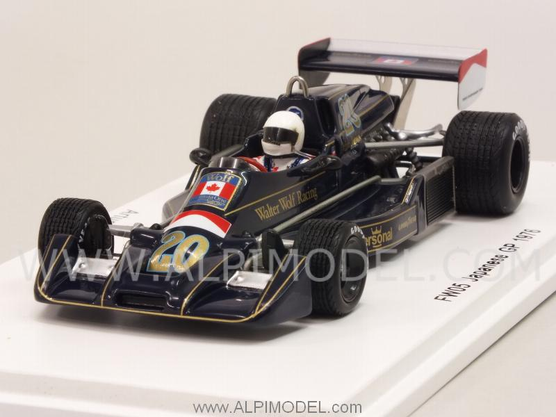 Williams FW05 Wolf GP Japan 1976 Arturo Merzario by spark-model