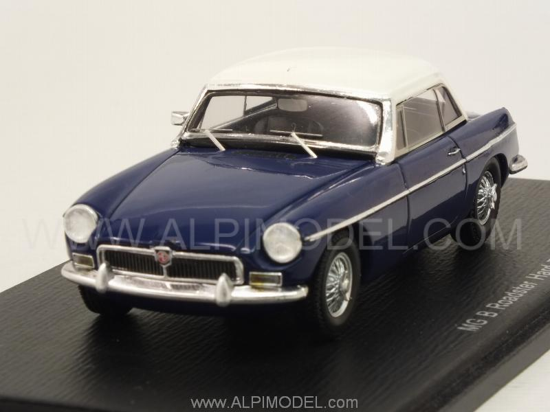 MG B Roadster Hard Top 1972 (Blue) by spark-model