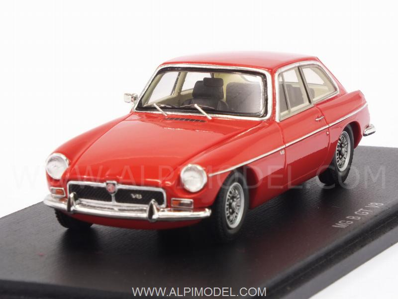 MG B GT V8 1973 (Red) by spark-model