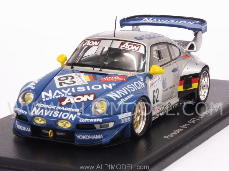 spark model porsche 911 gt2 62 le mans 1999 vosse hurtgen ahrle 1 43 scale model. Black Bedroom Furniture Sets. Home Design Ideas