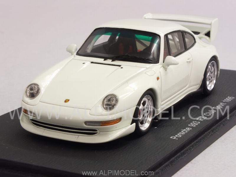 Porsche 911 RS (Type 993) Club Sport 1995 (White) by spark-model