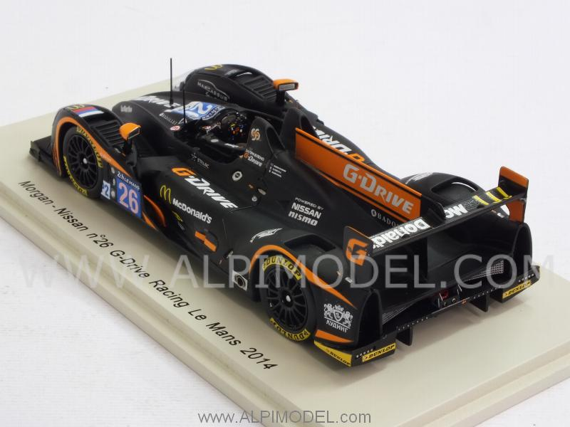 Morgan Nissan G-Drive Racing #28 Le Mans 2014 Rusinoiv - Pla -Canal - spark-model