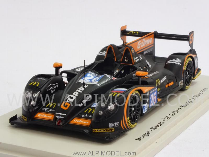 Morgan Nissan G-Drive Racing #28 Le Mans 2014 Rusinoiv - Pla -Canal by spark-model