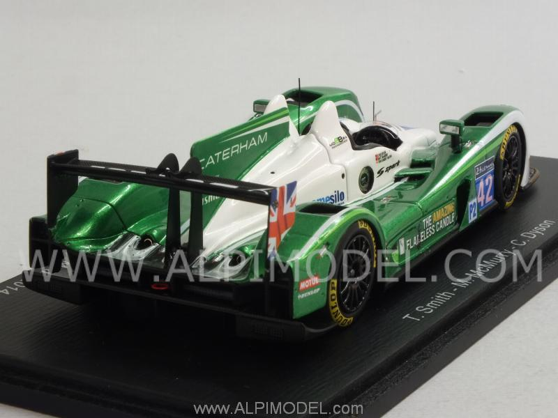 Zytek Z11SN Nissan #42 Le Mans 2014  Smith - McMurry -  Dyson - spark-model