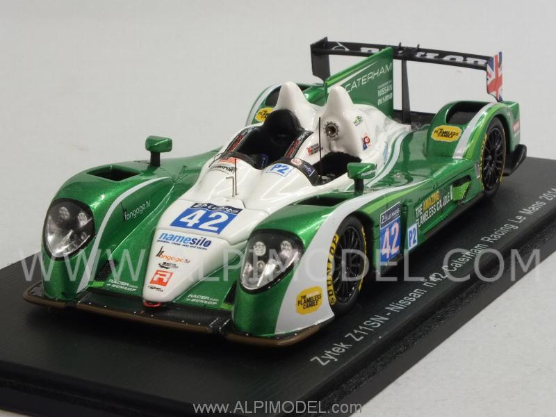 Zytek Z11SN Nissan #42 Le Mans 2014  Smith - McMurry -  Dyson by spark-model
