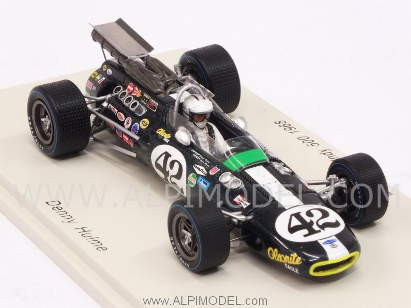 Denny Hulme Spark S4258 Indy 500 1968 1:43 Eagle Mk.4
