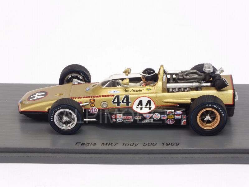 Eagle Mk7 #44 Indy 500 1969 Jo Leonard - spark-model