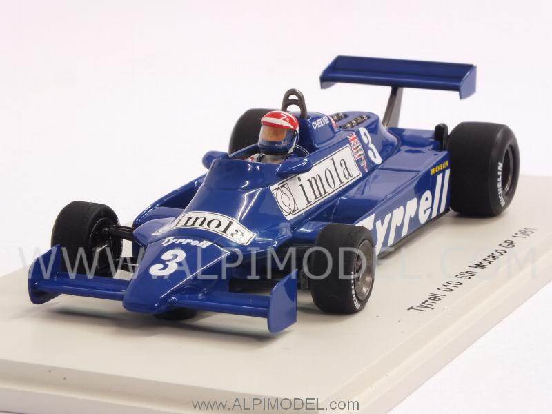 Tyrrell 010 #3 GP Monaco 1981  Eddie.Cheever by spark-model