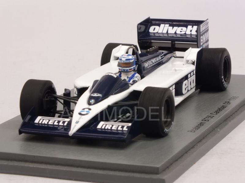 Brabham BT55 #8 GP Canada 1986 Derek Warwick by spark-model