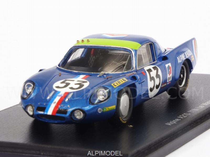 Alpine A210 #53 Le Mans 1968 Wollek - Ethuin by spark-model