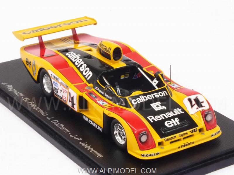 spark model s4376 alpine a442a renault 4 le mans 1978 ragnotti frequelin jabouille dolhem. Black Bedroom Furniture Sets. Home Design Ideas