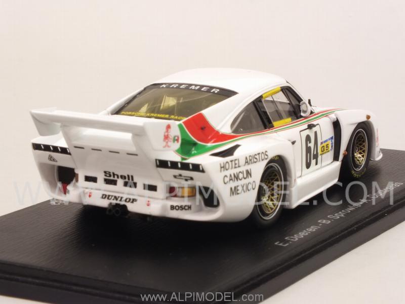 Porsche 935 K3 N.64 Dnf Lm 1982 Doeren-Sprowls-Contreras 1:43 Spark S4427 Modell