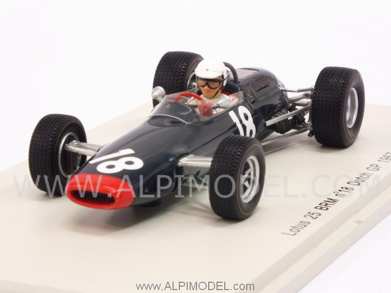 Lotus 25 BRM #18 GP Netherlands 1967 Chris Irwin by spark-model