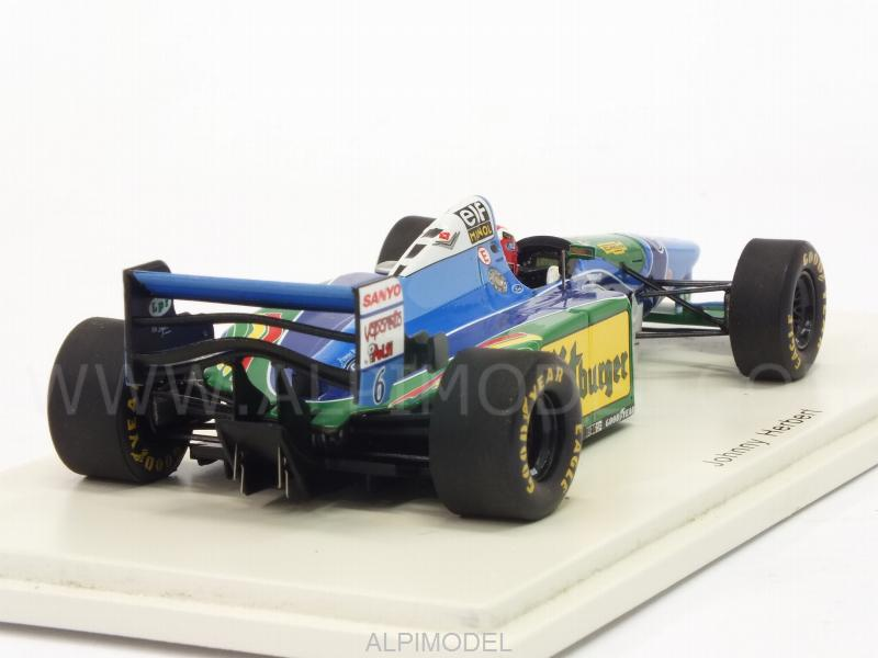 Benetton B194 #6 GP Australia 1994 Johnny Herbert - spark-model
