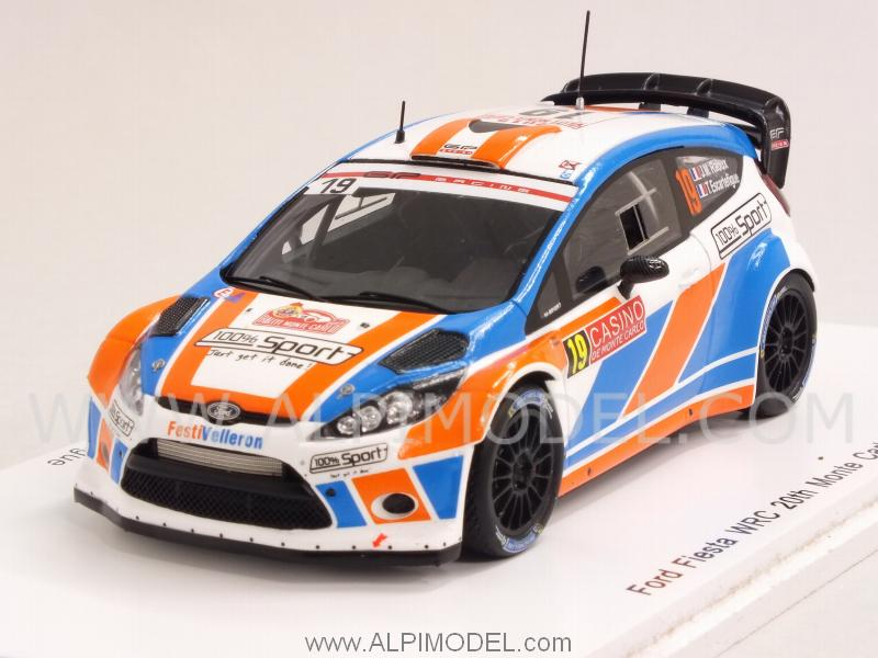 Ford Fiesta WRC #19 Rally Monte Carlo 2015 Raoux - Escartefigue by spark-model