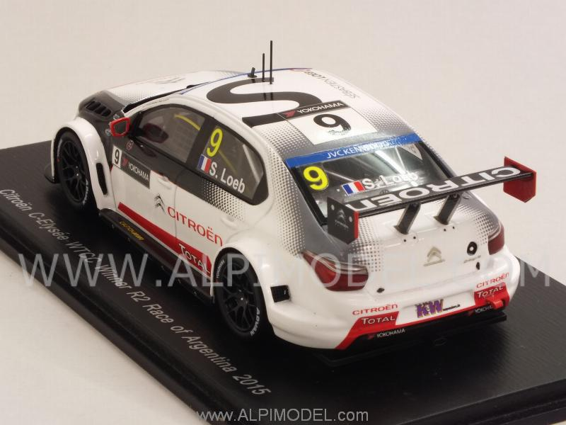 Citroen C-Elysee #9 Winner R2 Race of Argentina 2015  Sebastien Loeb - spark-model