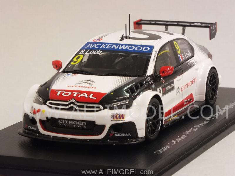 Citroen C-Elysee #9 Winner R2 Race of Argentina 2015  Sebastien Loeb by spark-model