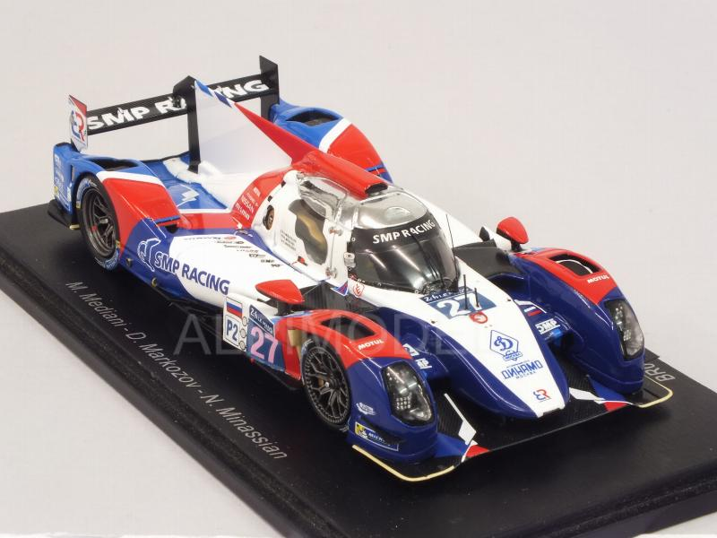 BR Engineering BR01-Nissan SMP Racing LMP2 #27 Le Mans 2015 Mediani - Markozov - Minassian - spark-model