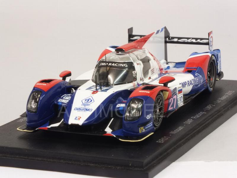 BR Engineering BR01-Nissan SMP Racing LMP2 #27 Le Mans 2015 Mediani - Markozov - Minassian by spark-model