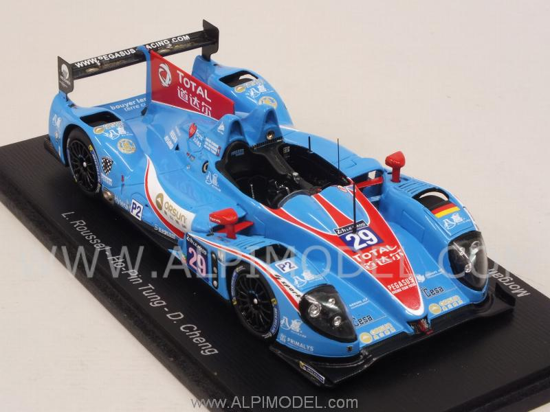 Morgan-Nissan #29 Le Mans 2015 Roussel - Ho Pin Tung -Cheng - spark-model