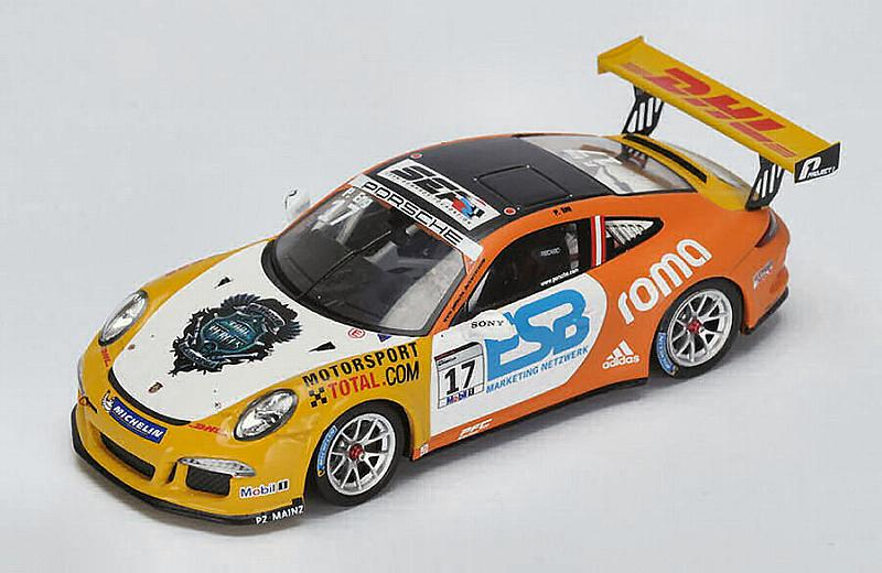 Porsche 911 Carrera #17 SuperCup Champion 2015 Philipp Eng by spark-model
