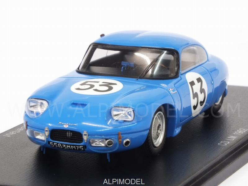 CD Panhard #53 Le Mans 1962 Guillaudin - Bertaut by spark-model