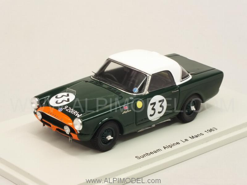 Sunbeam Alpine #33 Le Mans 1963 Harper - Procter by spark-model