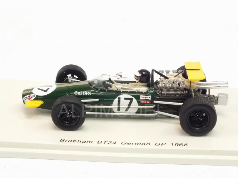 Brabham BT24 #17 GP Germany 1968 Kurt Ahrens - spark-model