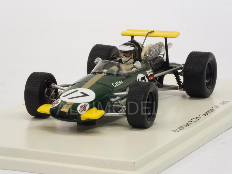 Brabham BT24 #17 GP Germany 1968 Kurt Ahrens by spark-model