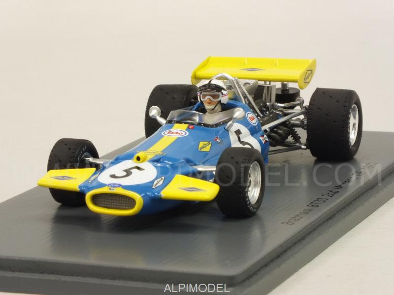 Brabham BT33 #5 GP Monaco 1970 Jack Brabham by spark-model