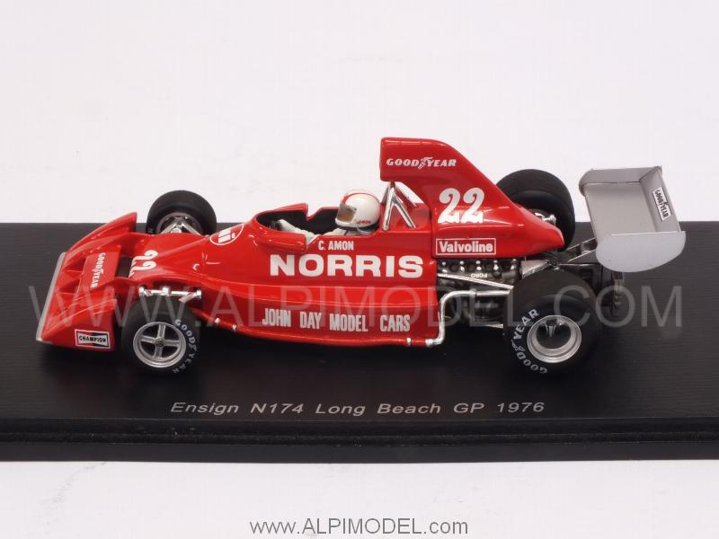 Ensign N174 #22 GP Long Beach USA 1976 Chris Amon - spark-model