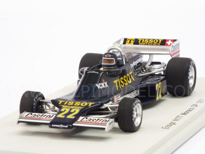 Ensign N177 #22 GP Monaco 1977 Jacky Ickx by spark-model