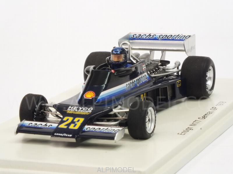 Ensign N177 n.23 GP Germany 1978 Harald Ertl S4814 Spark 1:43 New in a box!