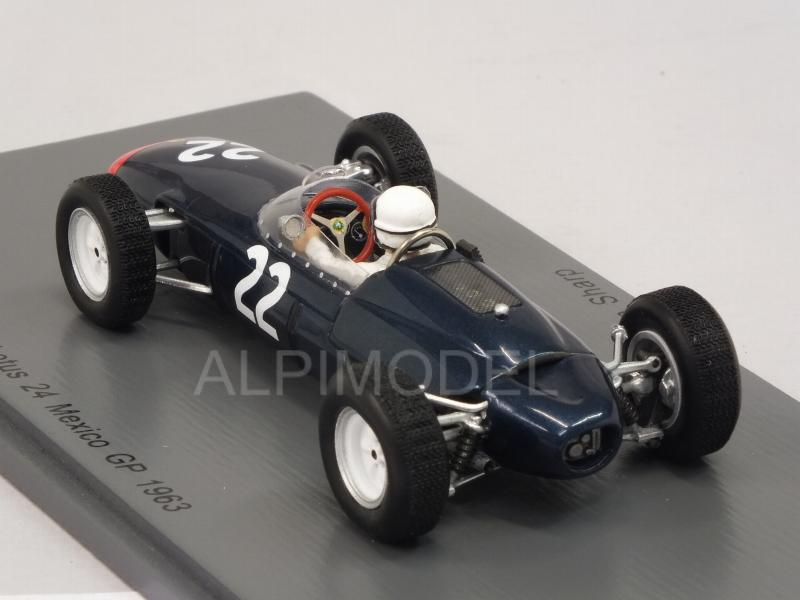 Lotus 24 #22 GP Mexico 1963 Hap Sharp - spark-model