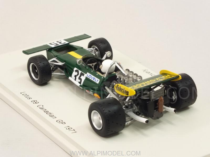 SPARK-MODEL S4832 Lotus 69 #35 GP Canada 1971 Pete Lovely 1/43