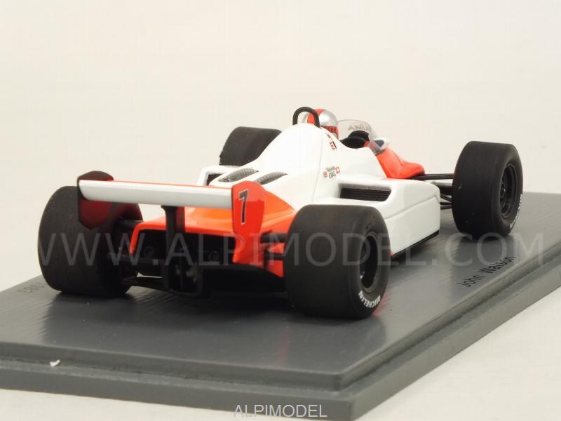 McLaren MP4/1C #7 Winner GP USA Long Beach 1983 John Watson (no tobacco decals) - spark-model