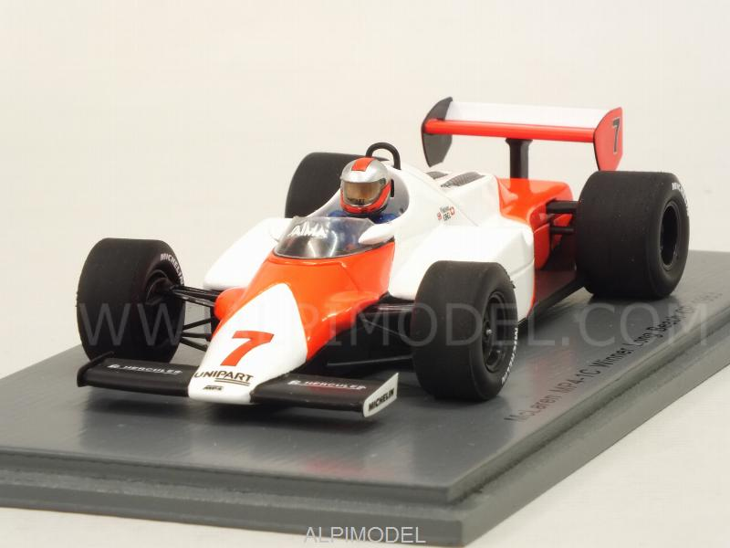 McLaren MP4/1C #7 Winner GP USA Long Beach 1983 John Watson (no tobacco decals) by spark-model