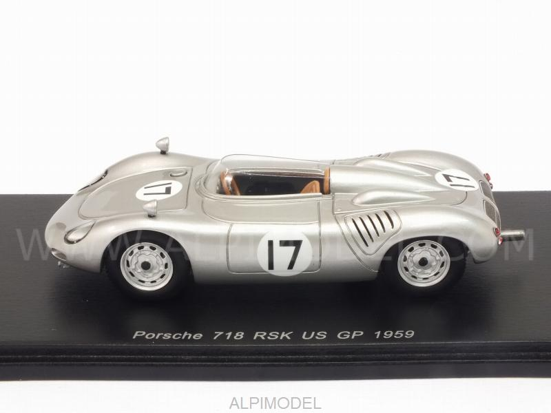 Porsche 718 RSK #17 GP USA 1959 Harry Blanchard - spark-model