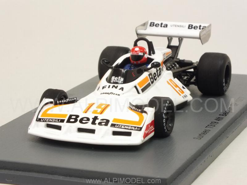Surtees TS19 #19 GP Belgium 1977 Vittorio Brambilla by spark-model